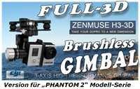 DJI Phantom 2 Quadcopter + Zenmuse H3-3D Combo (Multirotor) - Direkt vom Hersteller - 2