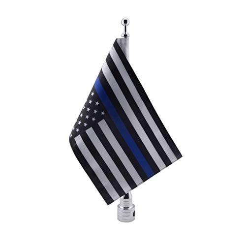 Shiwaki Motorrad US Flagge Amerika Blaue Flagge 10 X 7 Zoll Ersatz Flagge 1 STK - Motorrad Honda Fahne