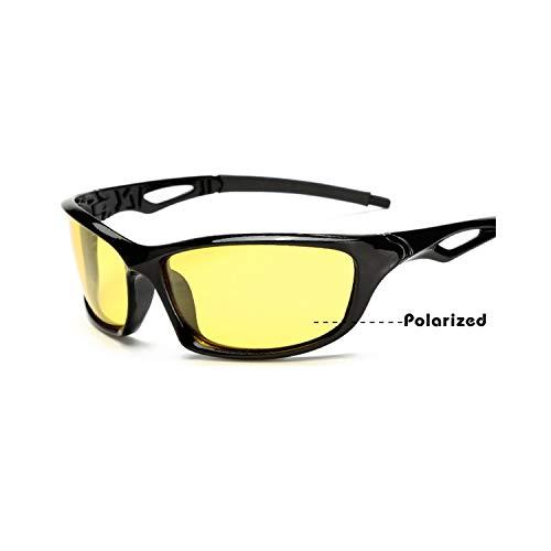 Sportbrillen, Angeln Golfbrille,NEW Arrival Men's Sunglasses Car Drivers Night Vision Goggles Anti-Glare Yellow Sun Glasses Women Driving Glasses Oculos night vision