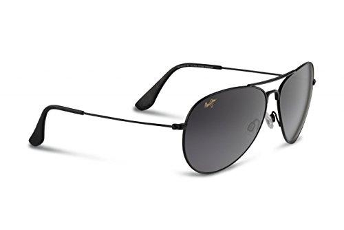 maui-jim-mavericks-gs264-02-neutral-grey-frame-avec-gloss-black-lentille-lunettes-de-soleil