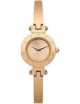 Karen Millen Damen-Armbanduhr Analog Quarz KM115RGM