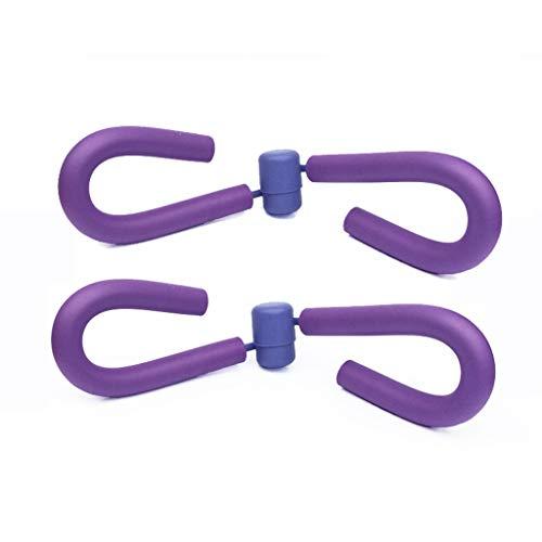 NSC Yoga Pierna Medial Fitness Equipment Mini Sport Pérdida De Peso Accesorios Multifunción,Purple