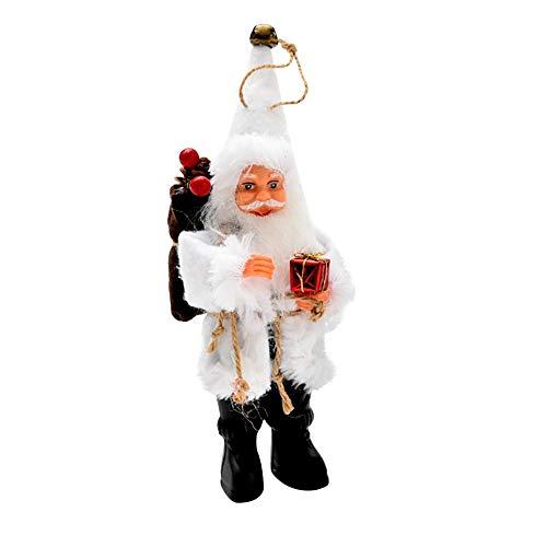 (Amphia Geschenk Weihnachtsbaum Dekor Candy Bag Ornamente Xmas Dekor Santa Claus Party Dekor Haus Dekoration - Weihnachts-Flanell Puppe Pendant 16/22cm)