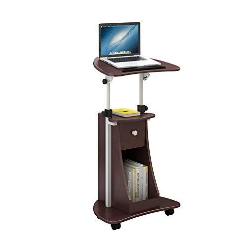 Klapptisch YANFEI Multifunktions-Stellung mit Fach-Podium-Laptop-Tabellen-Computer-Stand-Trainings-Treffen präsidiert über der Tabellen-justierbaren Höhe -