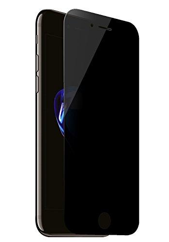iPhone 7 Plus Protector de Pantalla con Filtro de Privacidad, MisVoice [Cobertura Completa] Privacidad Anti-Spy Templado vidrio Protector de Pantalla 9H Dureza Fácil de instalar sin Burbujas Funda Peeping Privacidad Protector de Pantalla Para iPhone 7 Plus
