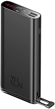 BASEUS Starlight Power Bank 22.5W 20000mAh LED Digital Display Screen Quick Charge 3.0 Type C PD3.0 Fast Charg