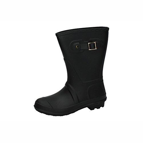 ZAPATOP Damen Stiefel, Schwarz - Schwarz - Größe: 37