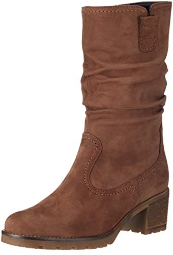Gabor Shoes Damen Comfort Sport Hohe Stiefel, Braun (Nougat (Mel.) 44), 44 EU