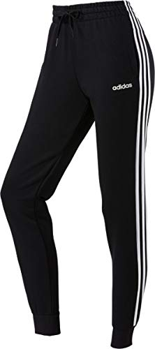 adidas Damen Essentials 3-Streifen Trainingshose, Black/White, M