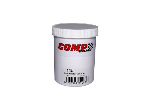 Competition Cams 104 Engine Assembly Lube, 8 oz. Jar by Comp Cams