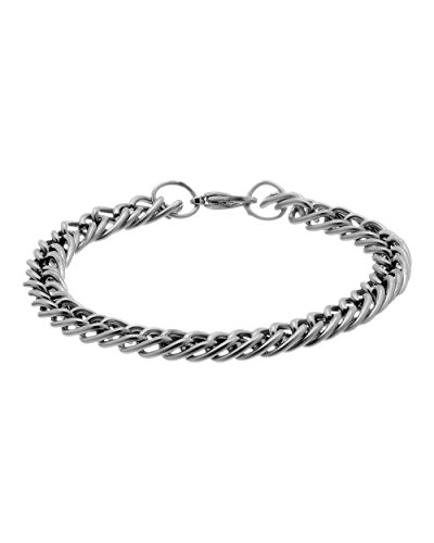 Voylla Silver Tone Bracelet Featuring Oval Geometric Links  available at amazon for Rs.149