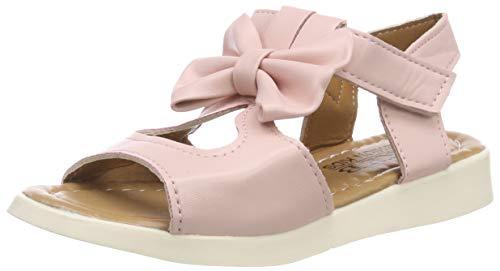 Bild von Sandalen Mädchen Sommer Schuhe Baby Klettverschluss leichte Lauflernschuhe Kinder Schleife Blumen Prinzessin