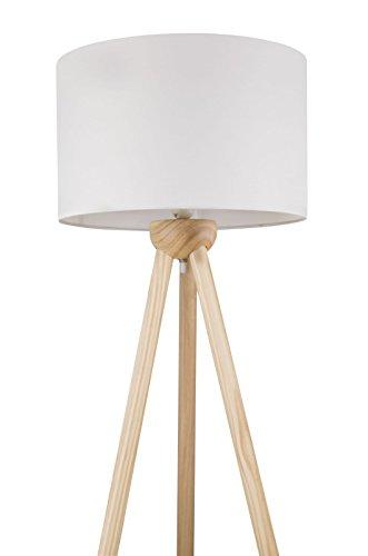 Lámpara de pie con plástico de pantalla en blanco lámpara de pie ...