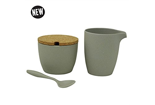 zuperzozial Milch & Zucker Set Dash & Dulce (Stone grey)