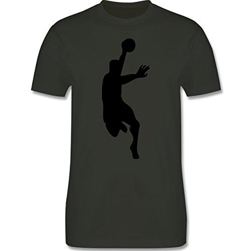 Handball - Handball - Herren Premium T-Shirt Army Grün