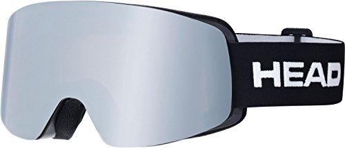 HEAD Infinity Race Skibrille Inkl. Austauschglas, Black, One Size