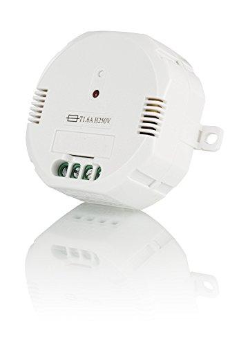 Trust Smart Home 433 Mhz Funk Einbau-Dimmer ACM-300 (für Glühlampen und Halogenlampen bis zu 300 W) (Smart Dimmer)