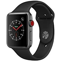Apple Watch Series 3 OLED GPS (satélite) Móvil Gris Reloj Inteligente - Relojes Inteligentes (OLED, Pantalla táctil, GPS (satélite), Móvil, 34,9 g, Gris)