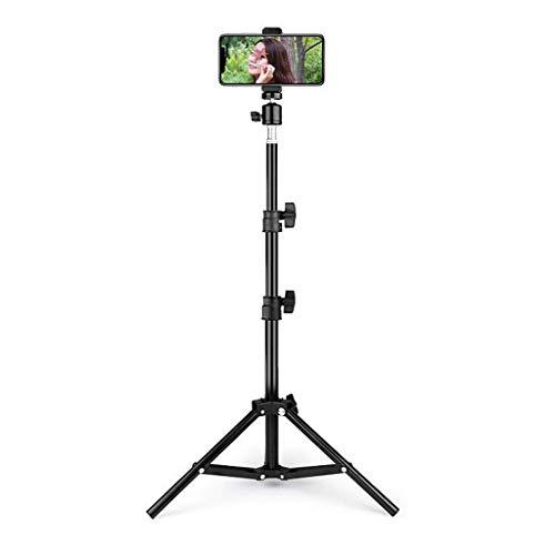 WLIXZ Telefonstativ, Flexible zellverstellbare Kamera-Ständerhalterung, universeller Clip 360 ° für iPhone, Android-Handy, Sportkamera,110cm