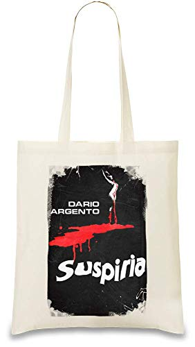 Suspiria Bluttanz - Suspiria Blood Dance Custom Printed Tote Bag| 100% Soft Cotton| Natural Color & Eco-Friendly| Unique, Re-Usable & Stylish Handbag For Every Day Use| Custom Shoulder Bags By Design
