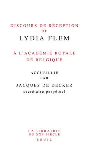 Discours réception Lydia