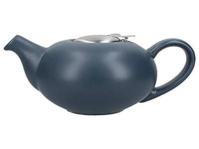 London Pottery 84105 Théière en grès avec infuseur pour thé en vrac