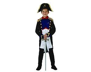 Atosa-70077 Disfraz Napoleón, Color azul, 7 A 9 Años (8.42226E+12)
