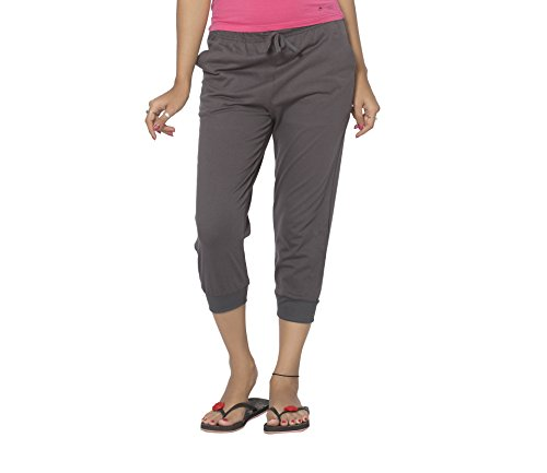 Clifton Women's Comfort Capri - Charcoal Melange - X-Large