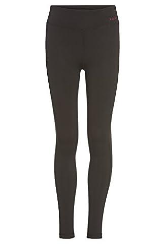 ROSSI Basic Sport Leggings - Mädchen Hose,Girls,Kinder,Fitness,Outdoor,Funktion,sportiv schwarz,158/64