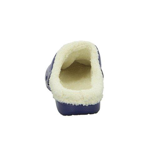 Home Comfort YY001 Herren Pantolette Warmfutter Blau (Blau)