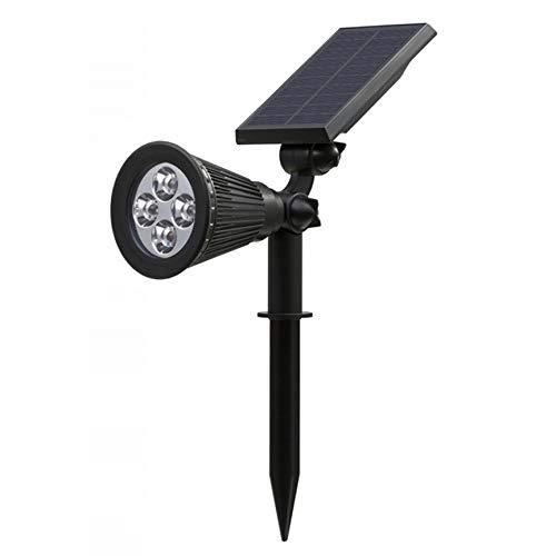 Peanutaod 4 LED wasserdichte Solarleuchten Außenstrahler Einstellbare Solar-Landschaftsbeleuchtung für den Gartenhof