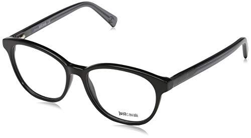 Just Cavalli Unisex-Erwachsene Brille JC0684 001 52 Brillengestelle, Schwarz,