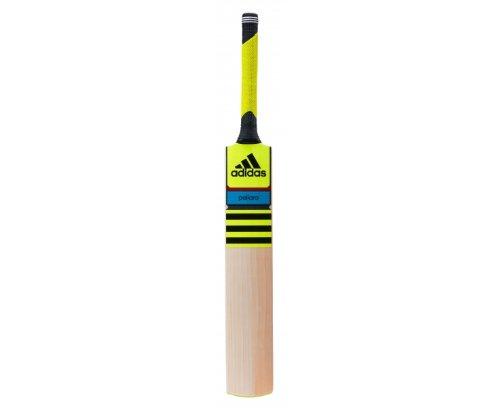 adidas Cricketschläger mit Tasche F48039 PELLARA Club J gelb schwarz (GB Harrow)