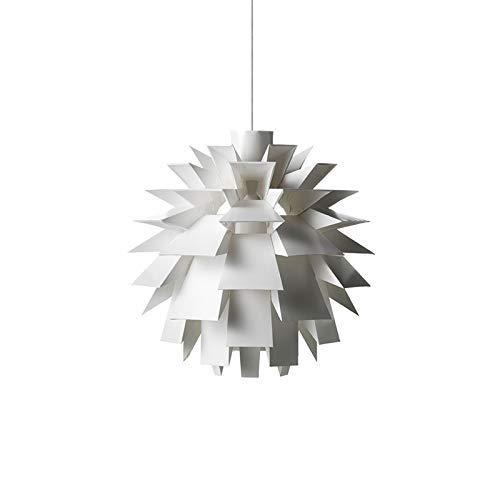 Lighting Postmoderne Pendelleuchte - Kronleuchter aus weißem Tannenzapfen - Wohnzimmer Esszimmer Schlafzimmer Kreative Pendelleuchte -