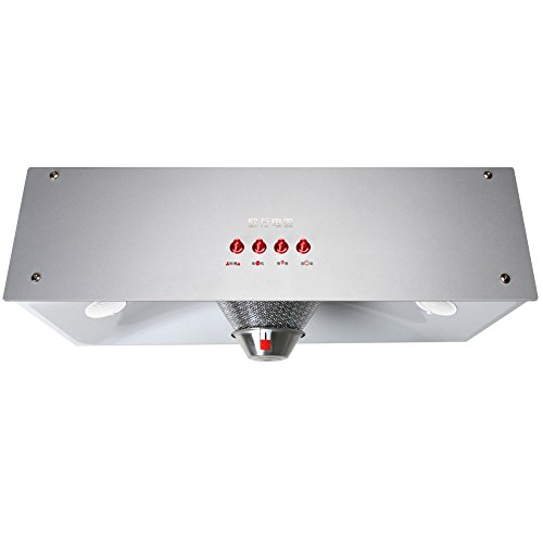 OUSNN in acciaio da cucina armadio Wall Mount cappa 220V 180W con LED luci OS105 (argento)