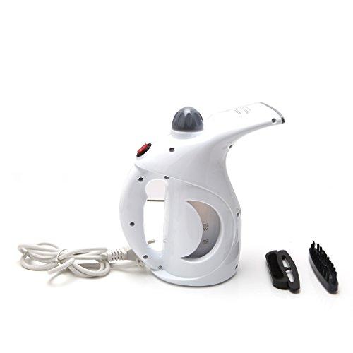 HBSHE Tragbare Kleidung Steamer Handheld schnell erhitzen Stoff Kleidungsstück Dampfer EU-Stecker (Weiß) (Tragbare Dampf-bügeleisen)