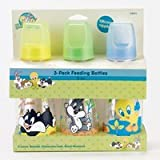 Baby Looney Tunes 3-Pack Feeding Bottles by Baby King
