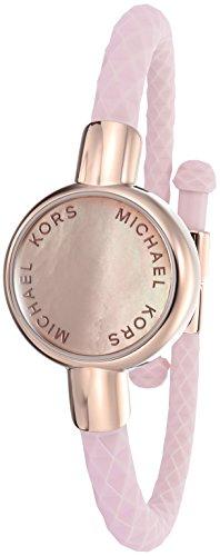 Michael Kors Digital Mother Of Pearl Dial Unisex Watch-MKA101004