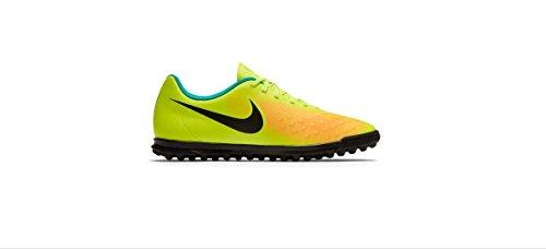 Nike Jr Magistax Ola Ii Tf, Scarpe da Calcio Uomo Amarillo (volt/black-total orange-clear jade)