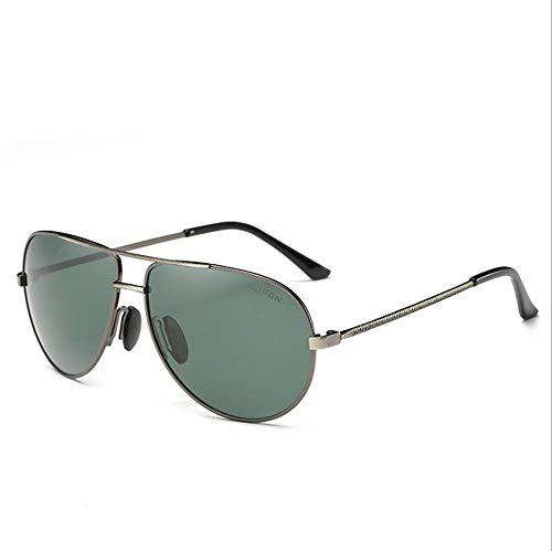 Delilya Polarisierte Sport-Sonnenbrille für Männer und Frauen, Radfahren, Golf, Angeln, Laufen, Segeln, Fahren, UV400-Schutz, Leichter, langlebiger Rahmen zum Umwickeln,Green