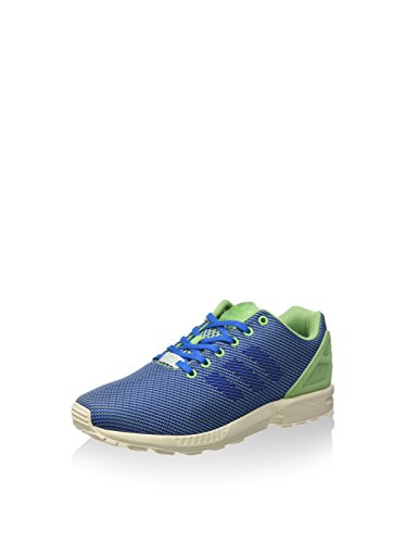 adidas ZX Flux Weave Green Blue White Bleu