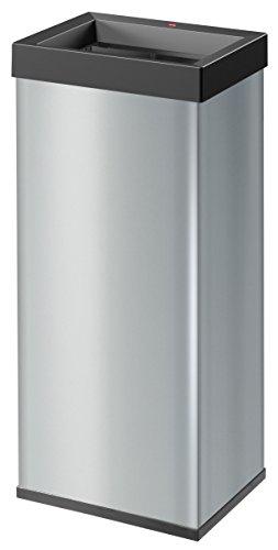Hailo Big-Box Quick XL Mülleimer (52 Liter, extra große Einwurföffnung, Müllbeutel-Klemmrahmen) 0860-121