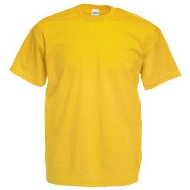 Gildan T-shirt en coton épais 40 coloris - Jaune - Jaune - Medium