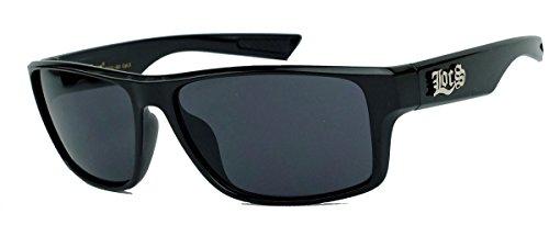 LOCS® Herren Sonnenbrille West Coast Gangsta Style Flat Top Modell in Trapez Form 19