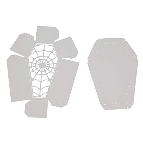 WuLi77 Halloween-Metallstanzformen für Kartenherstellung, Prägeschablone für Scrapbooking, DIY Album, Papier, Karten, Kunst, Dekoration