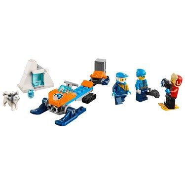 LEGO City 60191 - Ártico: Equipo de exploración