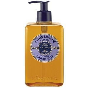 Preisvergleich Produktbild Shea Butter Liquid Soap - Lavender - 500ml / 16.9oz