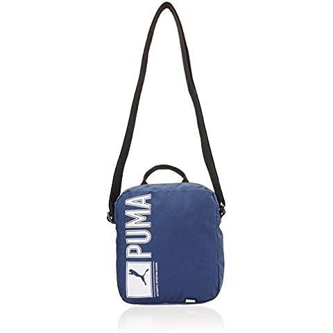 Funda PUMA Pioneer Portable, azul marino, 18 x 21 x 6 cm, 1,5 litros, 073472 02
