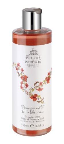 Boschi di Windsor Melograno e Hibiscus Bagno e Doccia Gel