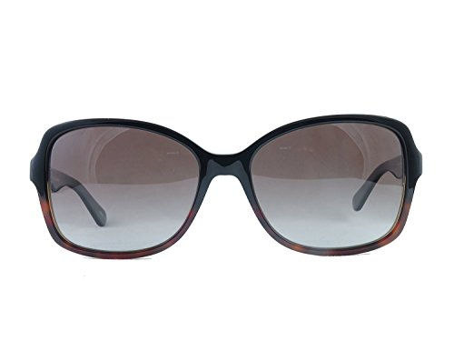 Kate Spade Sunglasses Ayleen 0WR7 Black Havana Frame with (LA) Brown Gradient Polarized Lens